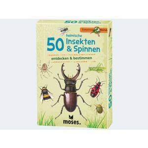 Expedition Natur 50 heimische Insekten & Spinnen - 9723