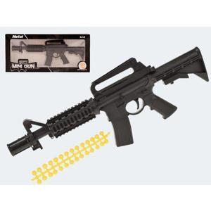 Kugelpistole M 4 Metall mit weichen Kugeln - 32111A