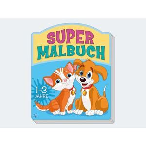 Supermalbuch 80 Seiten - 74181