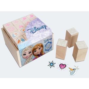 Multiprint Frozen 16 Ministempel,1Stempelkissen - 47883