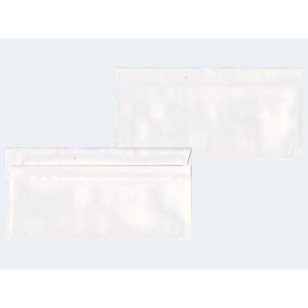 100 Briefhüllen DIN Lang weiss 70g sk - 22541/0