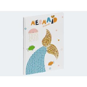 Freundebuch Mermaid 145x220 60 Seiten - 20357-15
