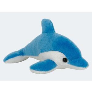 SEMO Petties Delfin, blau/weiß 13cm - DFLL06-3