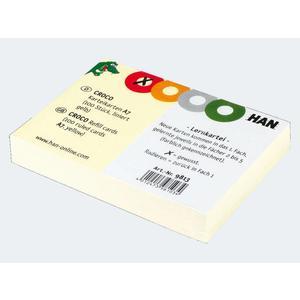 Karteikarten Croco A7 kariert - 9813
