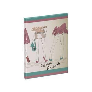 Freundebuch Fashion Friends 145x220 60 Seiten - 20349-15