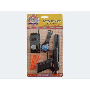 Polizei-Set 5 Teile Pfeilpistole/Handy/Uhr - 47195