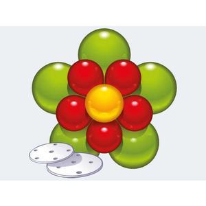 Deko-Set für Ballonblume - 48373