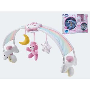 Chicco 2in1 Spielbogen pink mit Licht und Melodien - 00010473100000