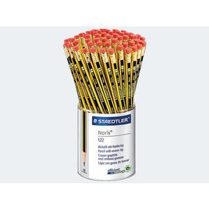 Bleistift Noris 72St HB mit Gummitip im Köcher - 122KP72