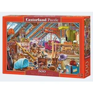 Puzzle 500T Auf dem Dachboden Castorland - 4438053407