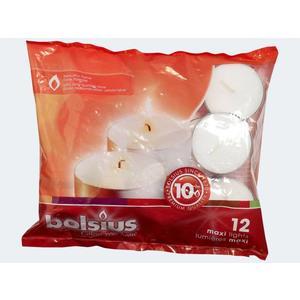 12 Maxi-Lichte weiss in Beutel 10h - 103631109300