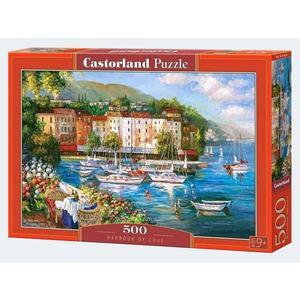 Puzzle 500T Hafen der Liebe Castorland - 4438053414
