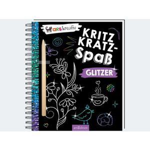 Kritzkratz-Spass Glitzer - 3010-0
