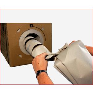 SPEEDMANBOX, Spendebox Packpapier, Verpackungsmaterial
