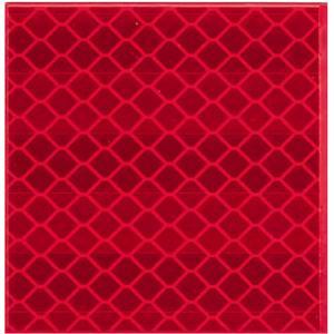 Reflex-Aufkleber rot,Reflektorband Klebeband, Reflektierendes Band Sicherheit Warnklebeband, Auto/Motorrad/Fahrrad/Nachtaktivitäts-Sicherheit Markierung Band