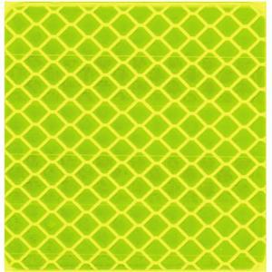 Reflex-Aufkleber fluorgelb,Reflektorband Klebeband, Reflektierendes Band Sicherheit Warnklebeband, Auto/Motorrad/Fahrrad/Nachtaktivitäts-Sicherheit Markierung Band