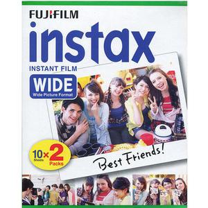 Fujifilm Instax Wide - Doppelpackung (20 Bilder)