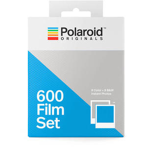 Filmset 600 – 1 Color & 1 B&W Film by Polaroid Originals
