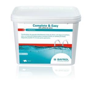Complete & Easy Granulat 1 Eimer 4,48kg - Wasserpflege mit Chlor