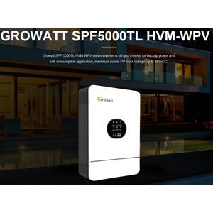 Inselwechselrichter 5000Watt Growatt SPF-5000TL WPV HVM Sinuswechselrichter