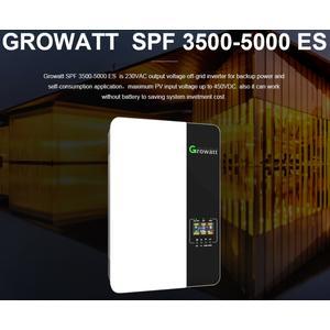 Inselwechselrichter 5000Watt Growatt SPF-5000 ES Sinuswechselrichter