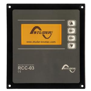 Fernsteuer-, Anzeige- und Programmiereinheit RCC-03