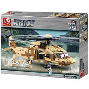 SLUBAN Army Black Hawk Hubschrauber M38-B0509