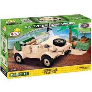 COBI 195 PCS HC WWII /2402/ VW TYP 82 KUBELWAGEN