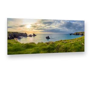 Porth Cothan Bay (Großbritannien, Cornwall) Alu-Verbund Art Print (90 x 40 cm)