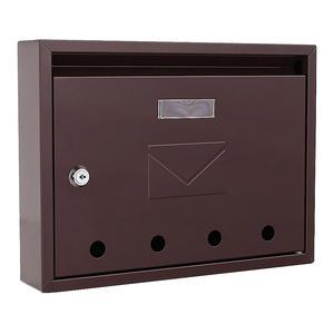 Home Design Briefkasten HDM-910 Braun
