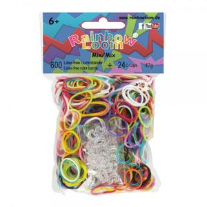 (21) Rainbow Loom® Gummibänder Mix