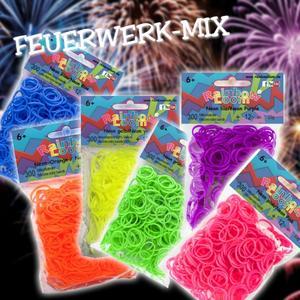 Rainbow Loom® Feuerwerks-Mix