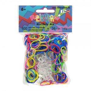 (20) Rainbow Loom® Gummibänder Mix Jelly