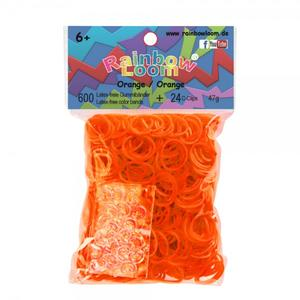(35) Rainbow Loom® Gummibänder Orange