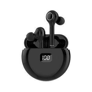 DAS OCHO Bluetooth Kopfhöre In Ear,Bluetooth 5.0 Kopfhörer Kabellos Sport Ohrhörer mit LED-Anzeige Ladebox TWS Schwarz