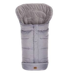 Winterfußsack K2 Soft Hellgrau Melange