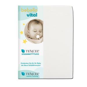 bebella vital TENCEL™ Lyocell Spannleintuch Weiß