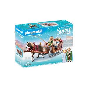 Playmobil Spirit Winterliche Schlittenfahrt
