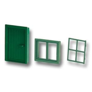 Teifoc Steinbaukasten Tür und Fenster
