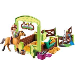Playmobil Spirit Pferdebox Lucky und Spirit