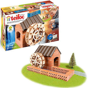 Teifoc Steinbaukasten Wassermühle
