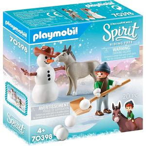 Playmobil Spirit Schneespaß mit Snips