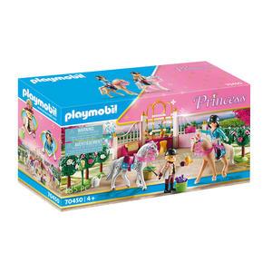 Playmobil Reitunterricht im Pferdestall