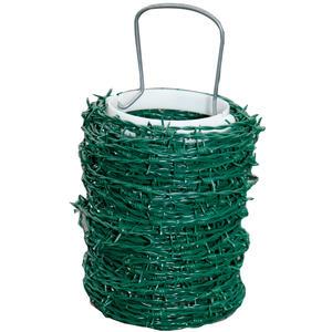 Stacheldraht grün - Länge: 100 m
