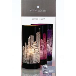 Lampe Touchscreen New York schwarz