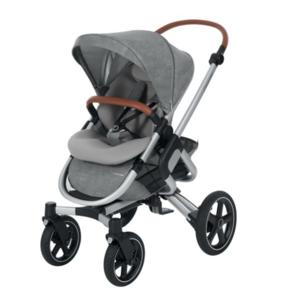 2 in 1 Kombikinderwagen ,Maxi Cosi Nova 4 Rad + Oria Kinderwagenaufsatz Nomad Grey