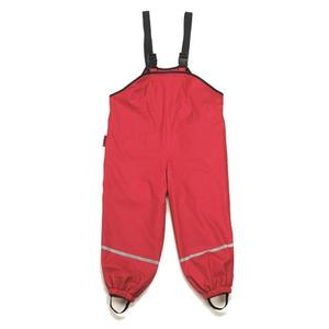 Regenlatzhose, reflektierend ,Rot 80