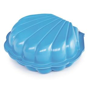 Sand/Wassermuschel 2teilig,Blau 102x88x21cm
