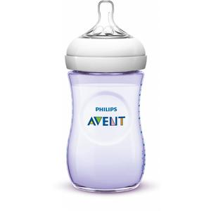 Philips AVENT Naturnah Flasche,260 ml, Kunststoff, ab 1M, Lila
