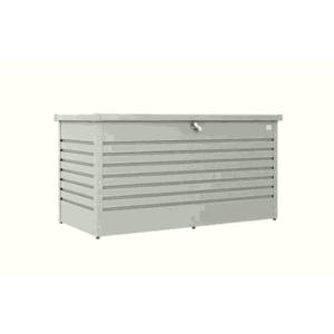 Biohort FreizeitBox Aufbewahrungsbox 180 silber-metallic